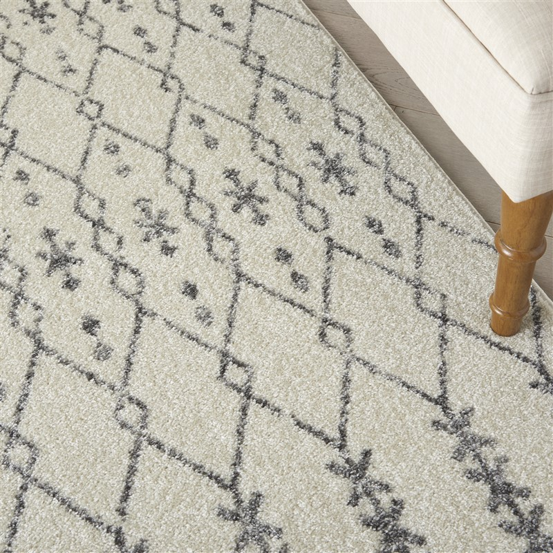 Nourison Passion PSN40  Ivory/Grey Transitional Area Rug